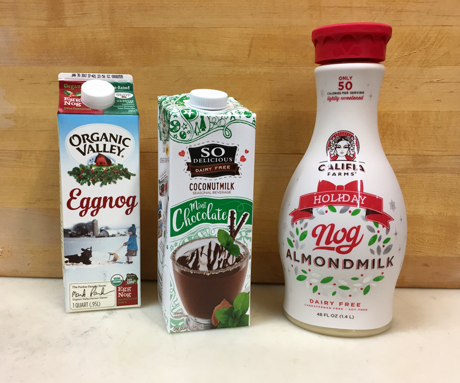 "Feeling ""Noggy""? Holiday vegan and traditional eggnog"
