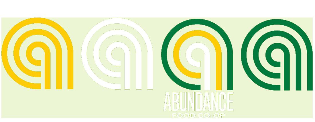 Abundance Co-op logo banner