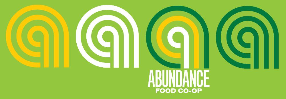 Abundance food co-op logo banner