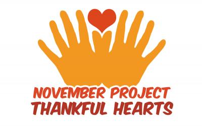 November Project: Thankful Hearts