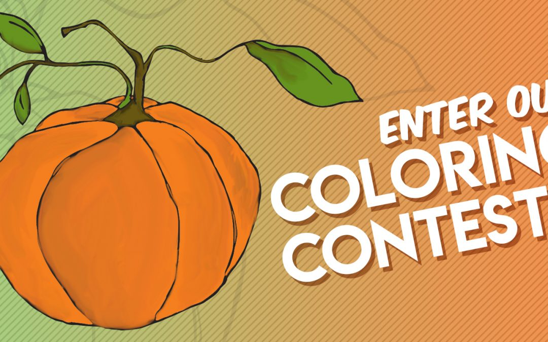 Pumpkin Coloring Contest