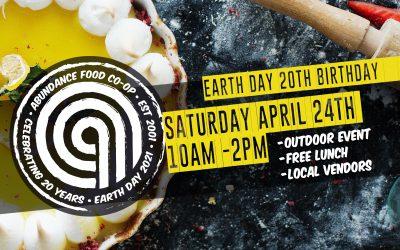 Earth Day 20th Birthday