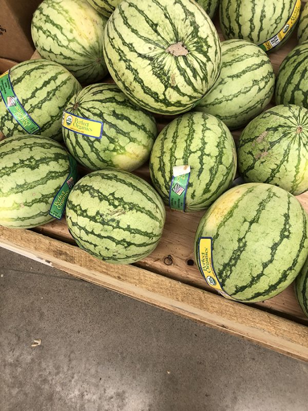 watermelons at the coop