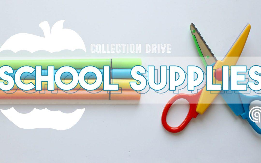 School Supplies Drop Off Center