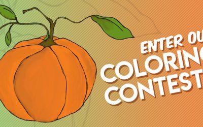 Pumpkin Coloring Contest